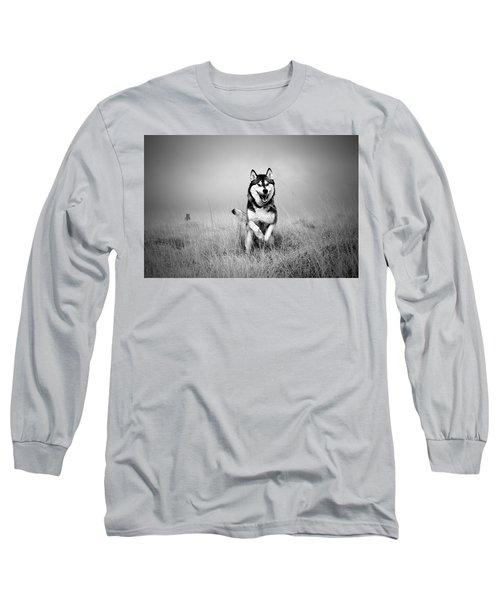Running Wolf Long Sleeve T-Shirt