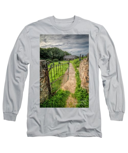 Sacred Path Long Sleeve T-Shirt by Adrian Evans