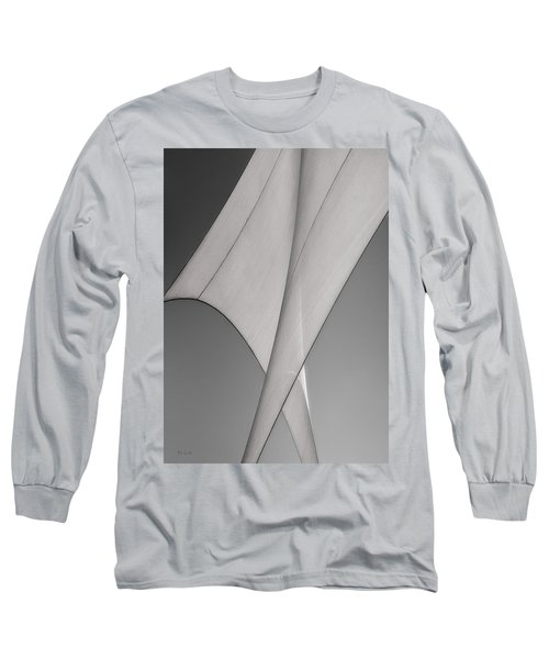 Sailcloth Abstract Number 3 Long Sleeve T-Shirt