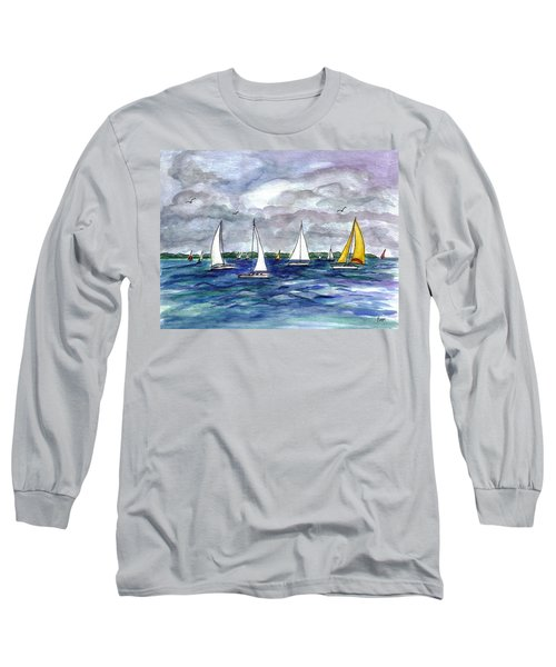 Sailing Day Long Sleeve T-Shirt