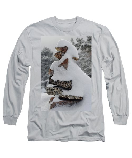 Long Sleeve T-Shirt featuring the photograph San Jacinto Balanced Rocks by Kyle Hanson