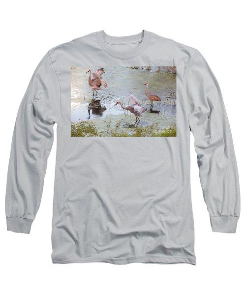 Sandhill Excursion Long Sleeve T-Shirt