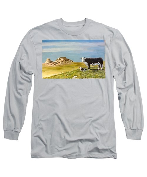 Sandhills Spring Long Sleeve T-Shirt by Bern Miller