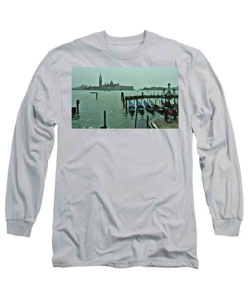 Long Sleeve T-Shirt featuring the photograph Sanding By by Brian Reaves