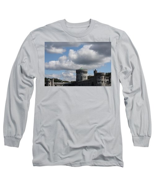 Long Sleeve T-Shirt featuring the photograph Sands Point Castle by John Telfer