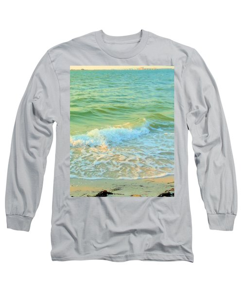 Long Sleeve T-Shirt featuring the photograph Sanibel At Sunset by Janette Boyd