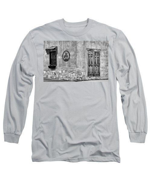 Long Sleeve T-Shirt featuring the photograph Santa Fe New Mexico Street Corner by Ron White