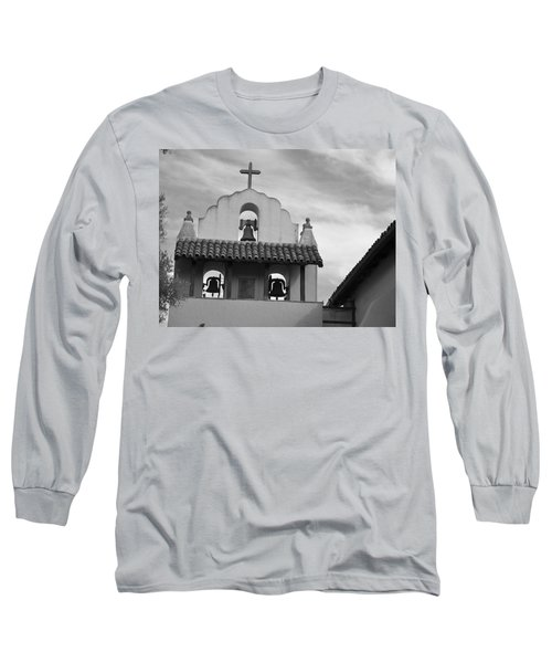 Santa Ines Mission Bell Tower Long Sleeve T-Shirt