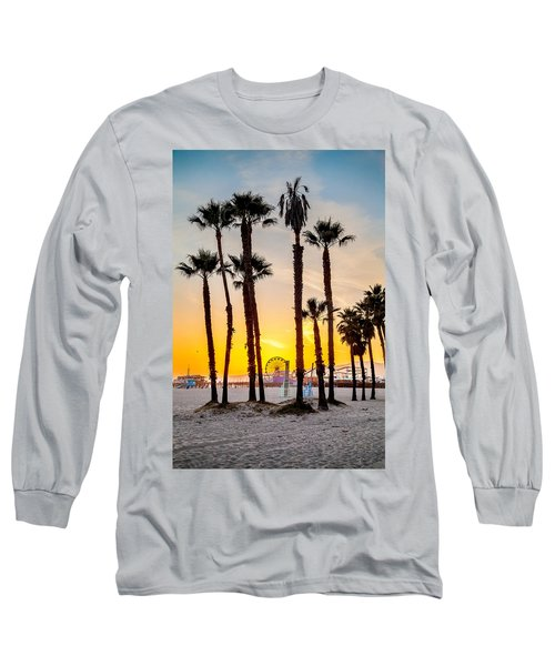 Santa Monica Palms Long Sleeve T-Shirt