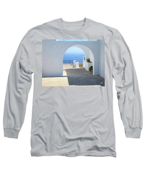 Santorini Grk8681 Long Sleeve T-Shirt