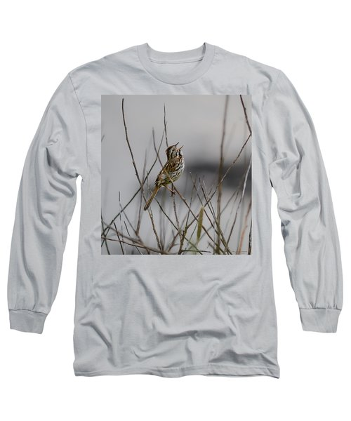 Savannah Sparrow Long Sleeve T-Shirt