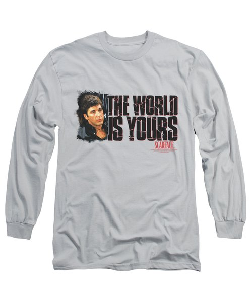 Scarface - The World Is Yours Long Sleeve T-Shirt