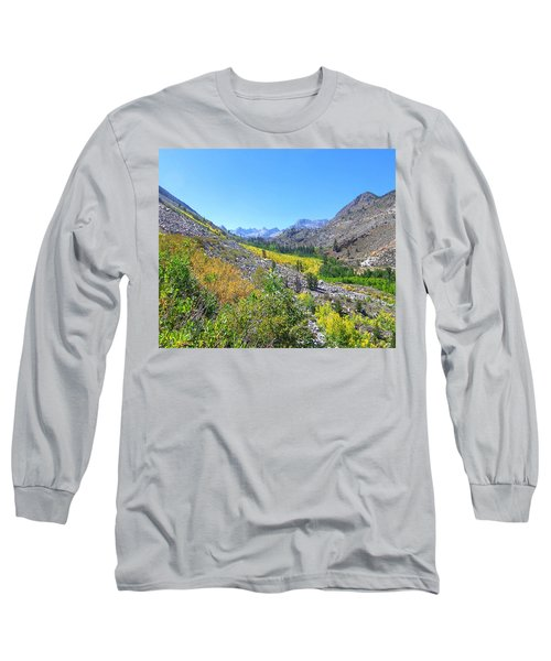 Long Sleeve T-Shirt featuring the photograph Scenic Peace by Marilyn Diaz