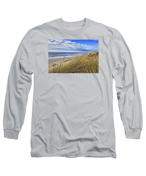 Sea Grass And Sand Dunes Long Sleeve T-Shirt