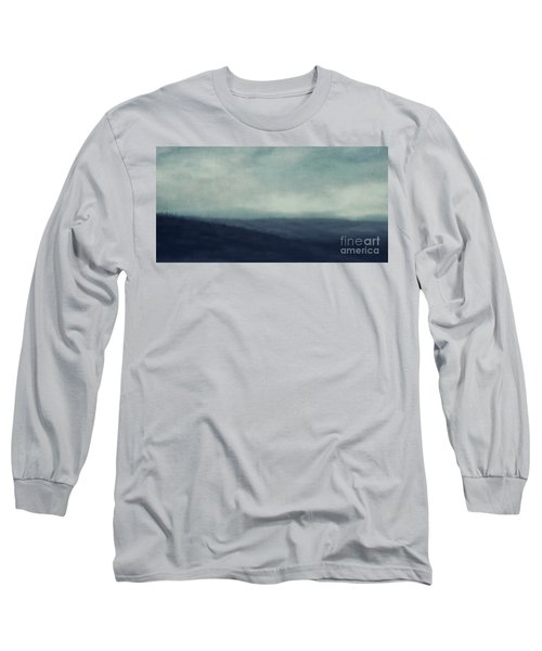 Sea Of Trees And Hills Long Sleeve T-Shirt