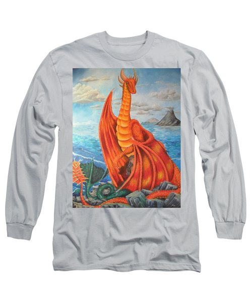 Sea Shore Pair Long Sleeve T-Shirt