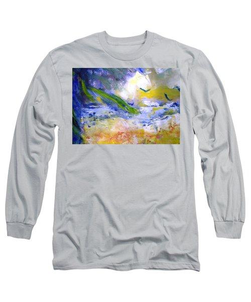 Seashore Windy Days Long Sleeve T-Shirt