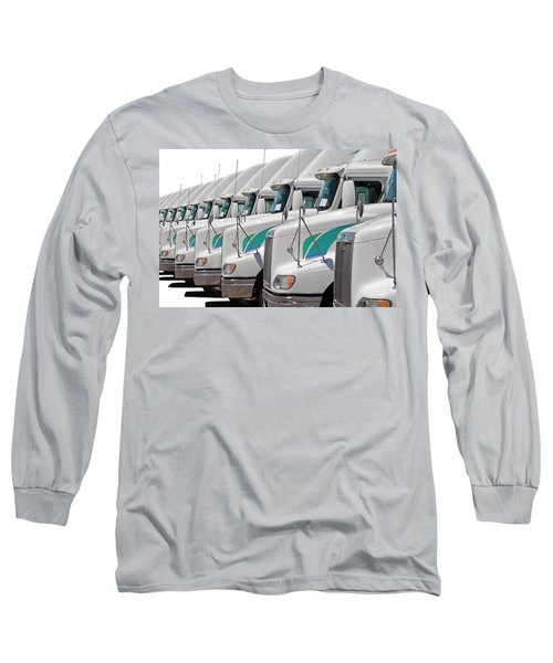 Semi Truck Fleet Long Sleeve T-Shirt