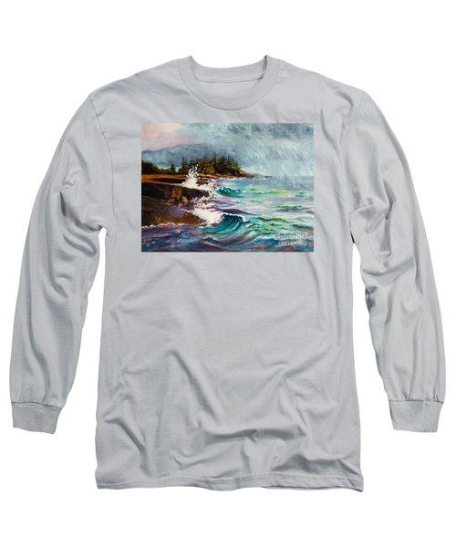 September Storm Lake Superior Long Sleeve T-Shirt