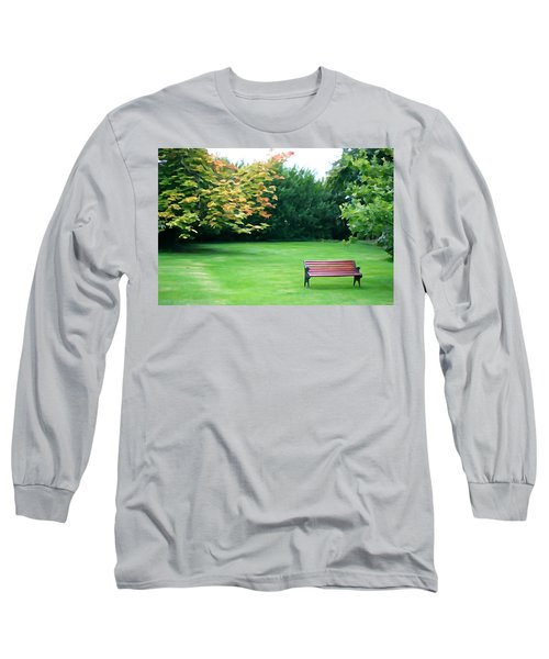 Long Sleeve T-Shirt featuring the photograph Serenity by Charlie and Norma Brock