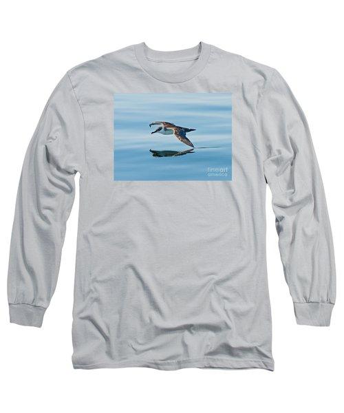 Shearing The Water... Long Sleeve T-Shirt