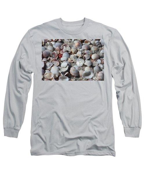 Shells On Treasure Island Long Sleeve T-Shirt