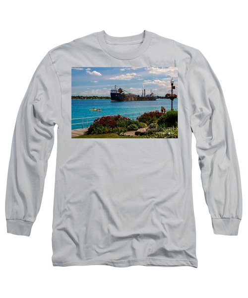 Ship And Kayaks Long Sleeve T-Shirt