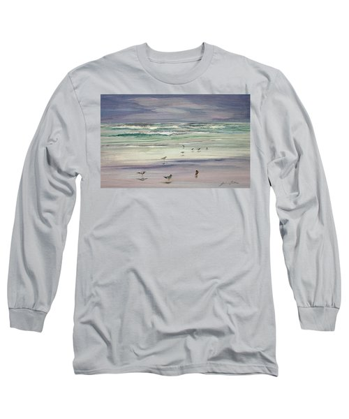 Shoreline Birds IIi Long Sleeve T-Shirt