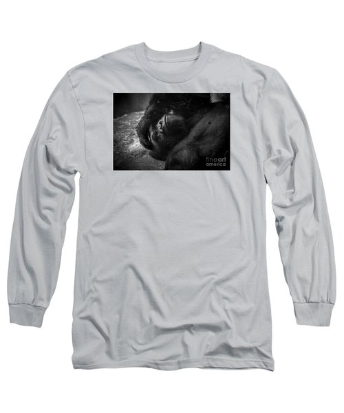 Deep In Thought Of Freer Times Long Sleeve T-Shirt