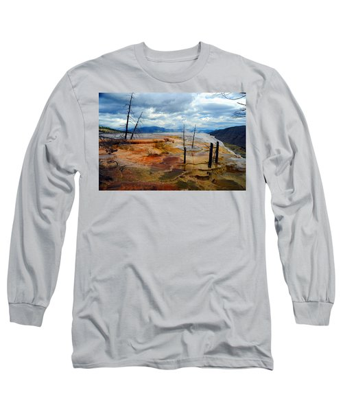 Simmering Color Long Sleeve T-Shirt