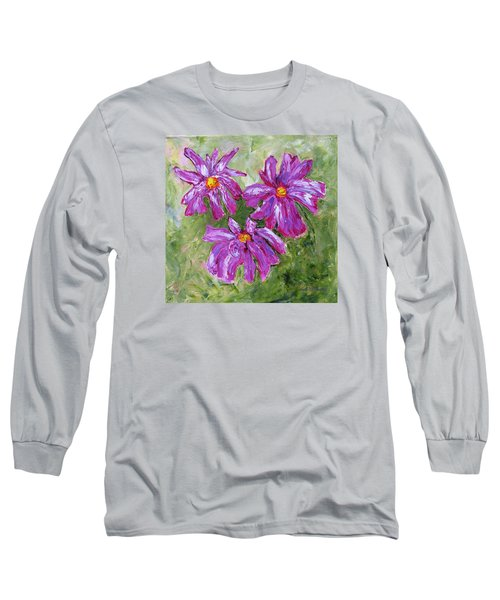 Simple Flowers Long Sleeve T-Shirt