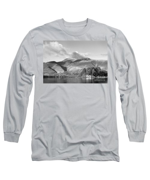 Skiddaw And Friars Crag Mountainscape Long Sleeve T-Shirt