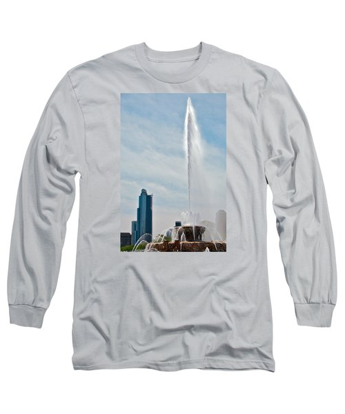 Sky High Long Sleeve T-Shirt by Lawrence Boothby