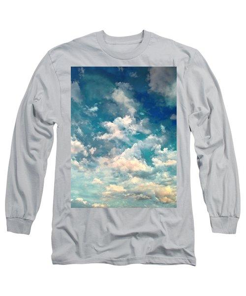 Sky Moods - Refreshing Long Sleeve T-Shirt