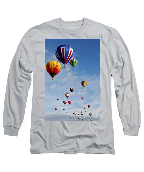 Long Sleeve T-Shirt featuring the photograph Skyward Bound by Gina Savage