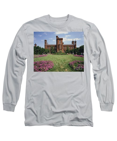 Smithsonian Institution Building Long Sleeve T-Shirt