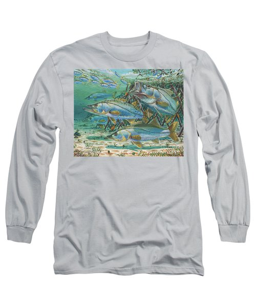 Snook Attack In0014 Long Sleeve T-Shirt