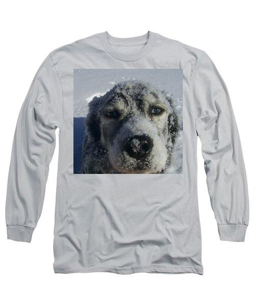 Snow Dog Long Sleeve T-Shirt