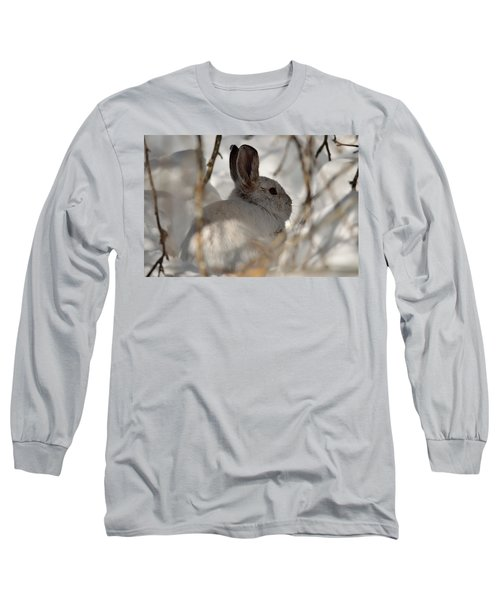 Snowshoe Hare Long Sleeve T-Shirt