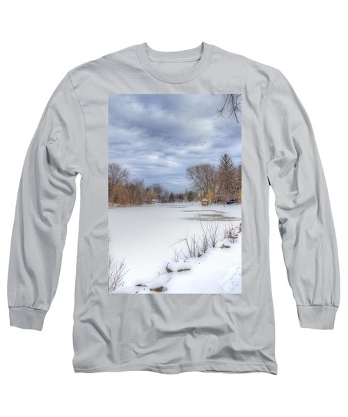 Snowy Lake Long Sleeve T-Shirt