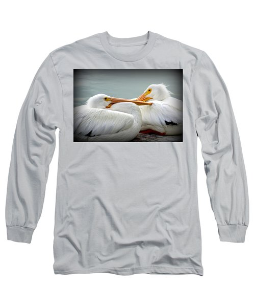 Snuggly Pelicans Long Sleeve T-Shirt