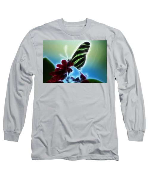Soft Landing Long Sleeve T-Shirt by Joann Copeland-Paul
