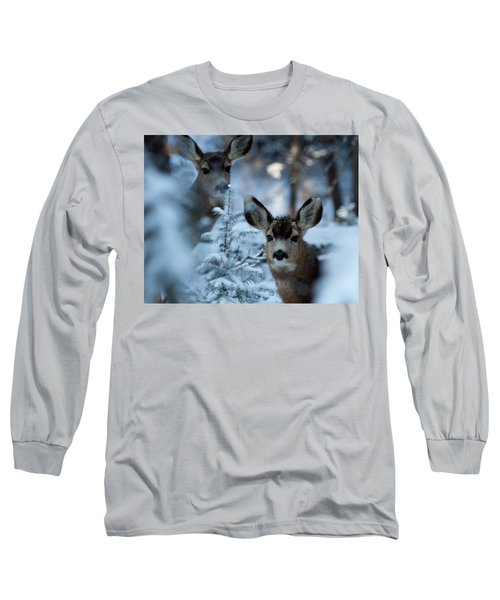 Long Sleeve T-Shirt featuring the photograph Somebody To Watch Over Me by Jim Garrison