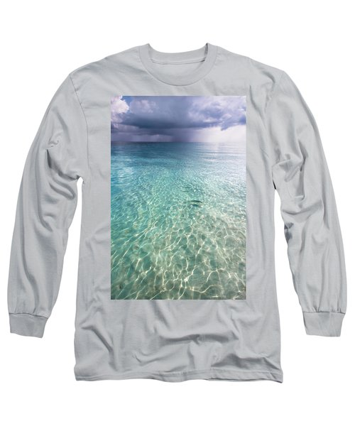 Somewhere Is Rainy. Maldives Long Sleeve T-Shirt