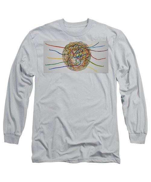 Soul Journey 1 Long Sleeve T-Shirt by Tim Mullaney