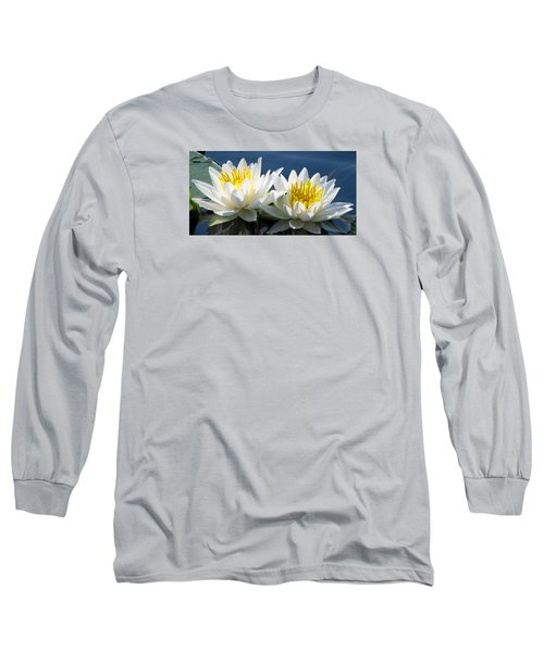 Long Sleeve T-Shirt featuring the photograph Soulmates by Angela Davies