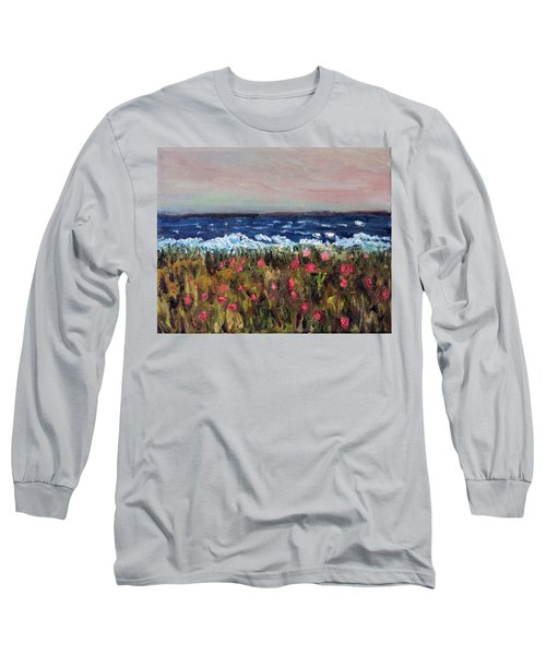 South Cape Beach Sunset Long Sleeve T-Shirt