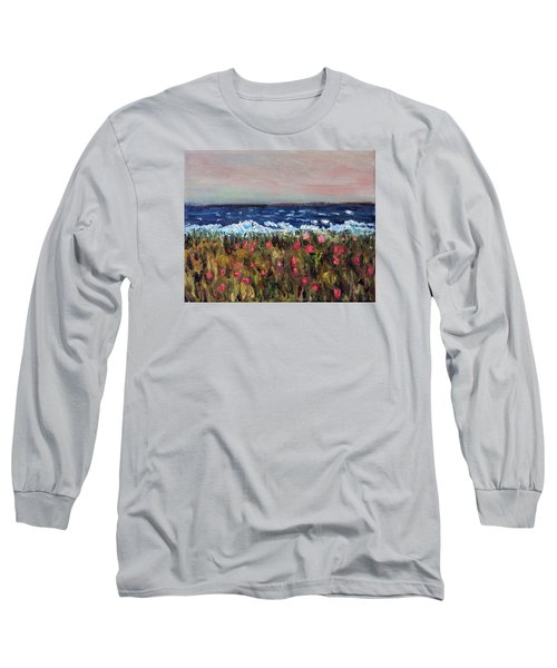South Cape Beach Sunset Long Sleeve T-Shirt