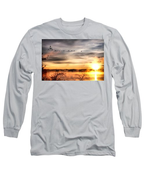 Long Sleeve T-Shirt featuring the photograph South Carolina Morning by Lynne Jenkins
