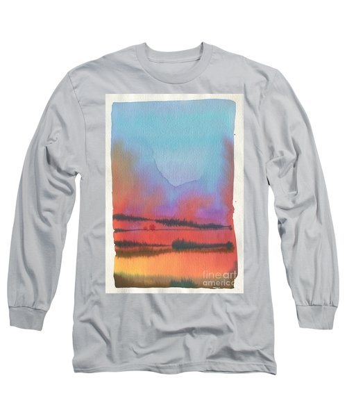 Long Sleeve T-Shirt featuring the painting Southland by Donald Maier